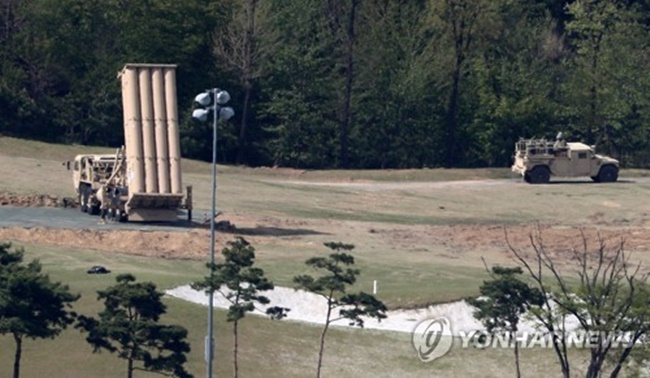 In April, 396 people filed an administrative suit against the provision of a former golf course in Seongju County, North Gyeongsang Province, to U.S. Forces Korea, claiming that it is a violation of the law on state-owned land. The also asked the court to suspend the land provision pending the trial. (Image: Yonhap)