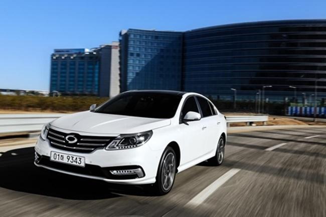 Renault Samsung Motor's upgraded SM5 sedan (Image: Renault Samsung)