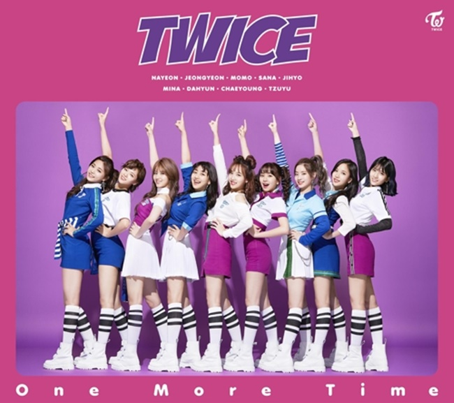 "A teaser image for K-pop act TWICE's upcoming Japanese song ""One More Time"" (Image: Yonhap)"