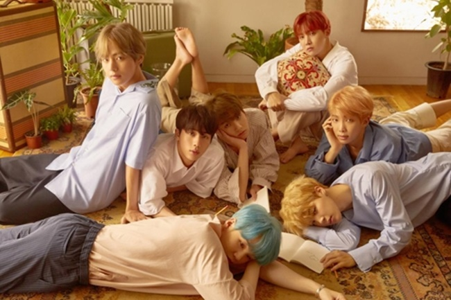 Pop Group BTS Drops New Album 'Love Yourself: Her' - Stream & Download Now!