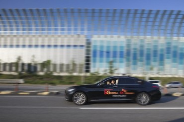 SK Telecom Tests Self-driving Automobile on Highway