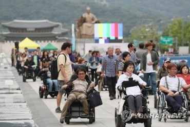 Disability Rights Group's Five-Year Protest at Gwanghwamun Square Comes to an End