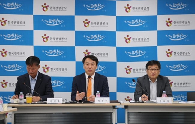 At a press conference held on Tuesday, the KTO announced plans for a number of events including a foreign-friendly arts-themed festival at one of the trendiest areas in Seoul, as well as another event aimed at South Koreans who plan to travel during this year's Chuseok holiday. (Image: Korea Tourism Organization)