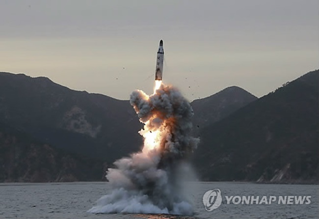 With North Korea's military provocation continuing to pose a threat to peace on the Korean Peninsula, talks of deploying a nuclear submarine in response to the ballistic missile threat have reemerged in South Korea. (Image: Yonhap)