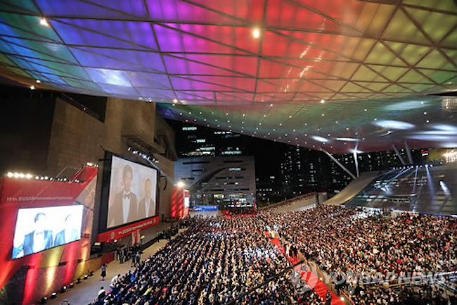 The opening film of the Busan International Film Festival (BIFF) has been leaked in advance, to the bewilderment of many.  (Image: Yonhap)