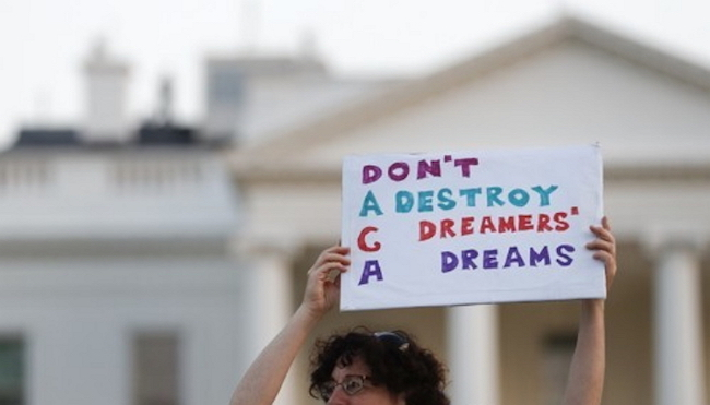 The Dream Act which is waiting for a vote in the Senate is different from DACA which only defers deportation for a certain period of time in that it allows Dreamers to receive permanent residency and citizenship