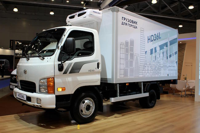 Hyundai Showcases New Truck Model at Auto Show in Moscow