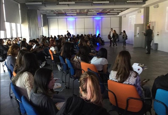 Since holding its first study abroad seminar in June, the center has been swamped with translating and distributing Korean education brochures and establishing relationships between Korean and Brazilian universities. (Image: São Paulo Korean Education Center)