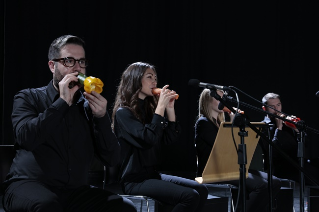 LG's New Commercial Featuring Vegetable Orchestra Targets Social Media