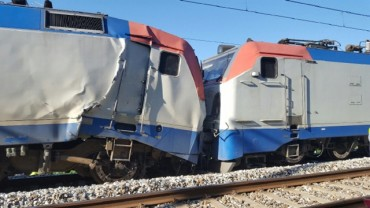 Two Trains Crash on Pyeongchang Winter Olympics Line