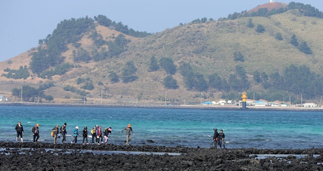 Around 8 out of 10 local residents and South Korean tourists believe the Olle Trail has made a significant contribution to Jeju Island's tourism industry over the last decade, a survey has found. (Image: Yonhap)
