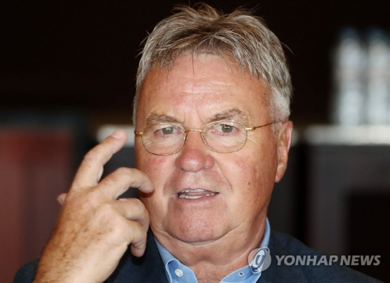 7 out of 10 S. Koreans Say Nat'l Football Team Needs Hiddink