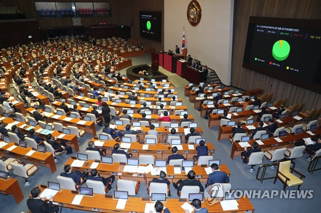 Workers who experience accidents during their commute will now be eligible for compensation, as new legislation has been passed at the National Assembly to categorize commuting as a continuation of work. (Image: Yonhap)