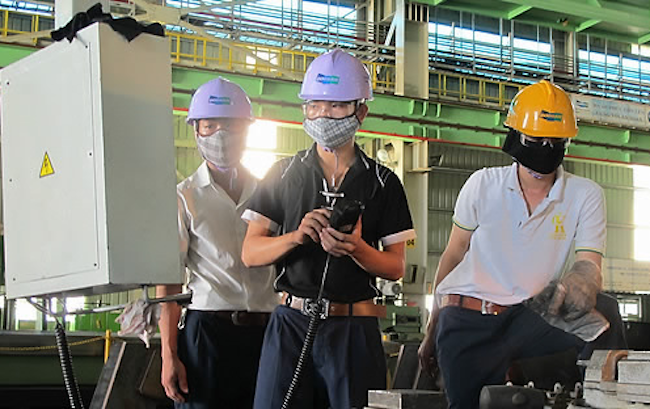 According to figures released by Statistics Korea, the production diffusion index for the mining and manufacturing industries in July was calculated at 48.8. (Image: Yonhap)