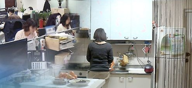 Average incomes for dual-income and single-income households between April and June, at 5.47 million won and 3.69 million won, respectively, are the closest they have been since the fourth quarter of 2015 (October through December) according to figures provided by Statistics Korea. (Image: Yonhap)