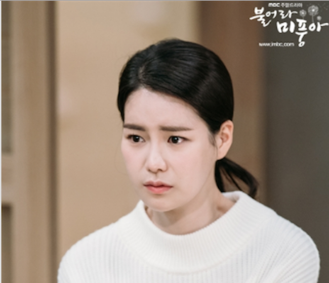"In MBC's ""Blow Breeze"", which reached a high of 28.3 Nielsen ratings points, protagonist Mi Poong's rival breaks into her home and swaps toothbrushes that she can use to pass herself off as the long-lost granddaughter of a wealthy businessman (the long-lost daughter is Mi Poong, but she doesn't realize this until the 45th or so episode of the 50 episode series). (Image: MBC)"