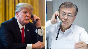 Moon, Trump to Hold Bilateral Talks on North Korea This Week
