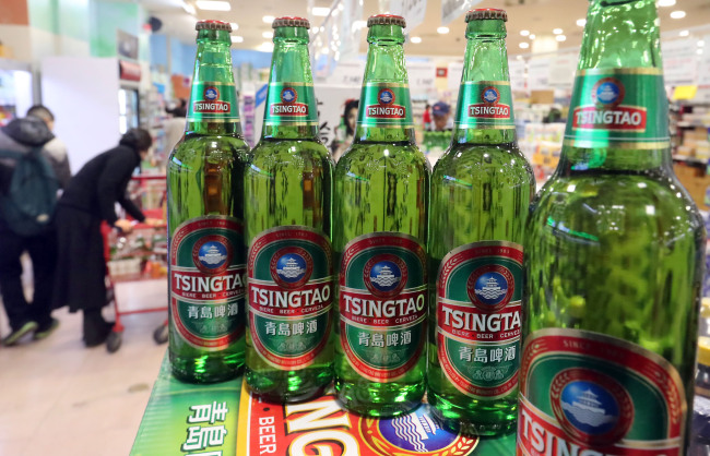 Tsingtao Beer Popularity Grows in S. Korea Despite Diplomatic Row: Sources