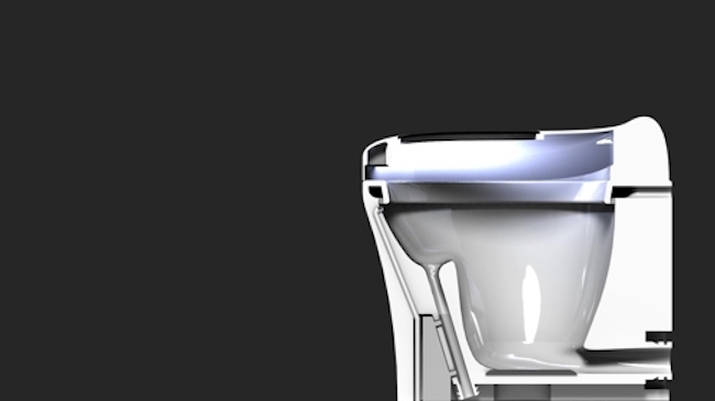 In addition, it will be equipped with UV lights that will sterilize both the surface of the toilet seat and the inside of the toilet bowl. (Image: UNIST)