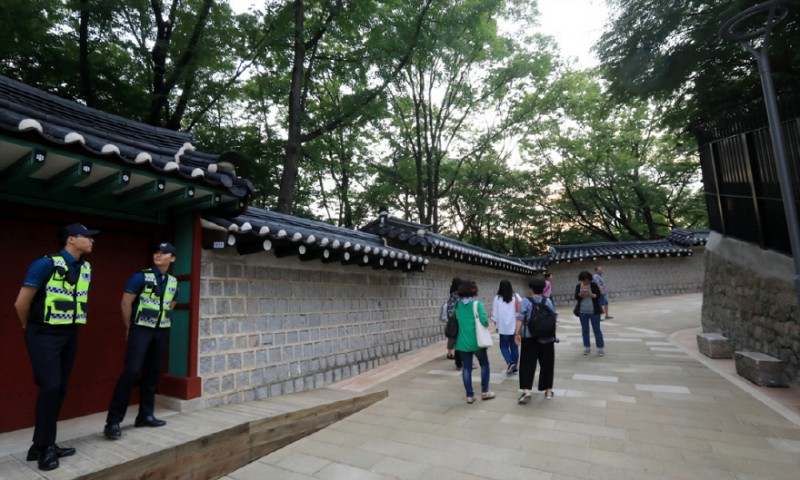 Royal Palace Walking Path in Central Seoul Opens Up to Public After 60 years