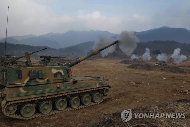 An Army soldier, who was wounded in a firing accident involving a K-9 self-propelled howitzer in Gangwon Province last month, died in a hospital on Wednesday, the Army said. (Image: Yonhap)