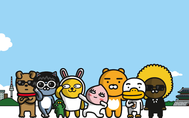 "In conclusion, Kim said that emoji-generating companies should ""bring to life empathic and creative character qualities in regards to design, and they should develop an exaggerated and humorous diversity of movements in regards to technical qualities."" (Image: Kakao Friends)"