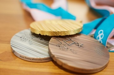 Inspired by Korean Alphabet, Medals for PyeongChang Winter Olympics Unveiled