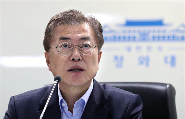 Moon Orders Thorough Implementation of U.N. Sanctions on N. Korea