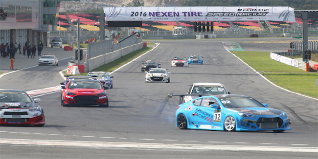 The motorsports event, which was first held in 2012, is the biggest domestic racing competition. (Image: Nexen Tire)