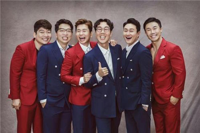 Building on their New Jersey show, the comedians, including Kim Young Chul, have a second American performance lined up at the Los Angeles Theater on September 16. (Image: Yonhap)