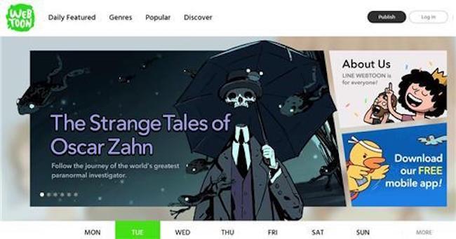 Naver Webtoons Reaches 40 Million Monthly Readers Worldwide | Be