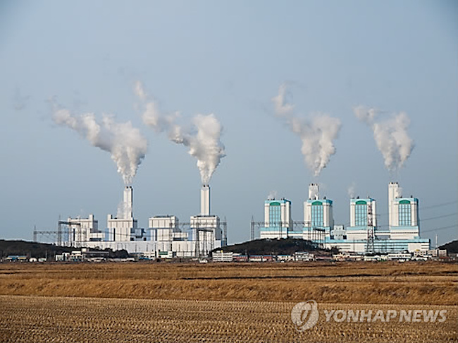 The plant is located at a thermal power station of the Korea East-West Power Company in the city of Dangjin in South Chungcheong Province. (Image: Yonhap)