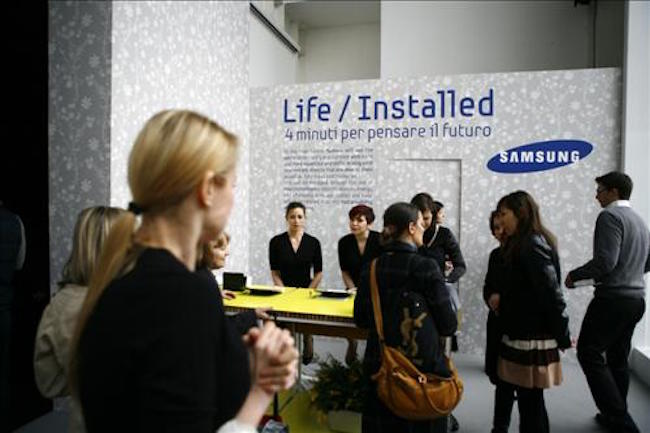 Samsung Electronics Co. will launch an Internet of Things (IoT) system that can incorporate artificial intelligence into the management of buildings, industry sources said Monday. (Image: Yonhap)