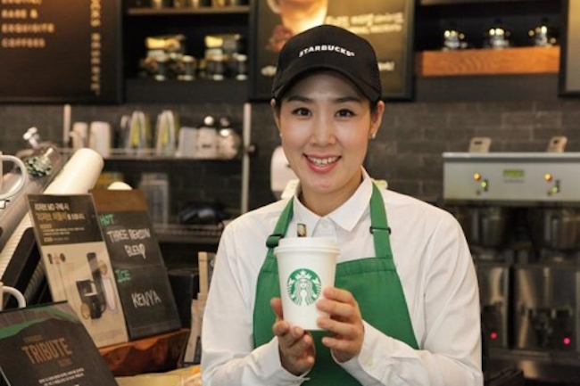 A Twosome Place, a South Korean coffee shop franchise operated by CJ Foodville, is improving its position in the local market, outpacing its rivals with an expanded network of branches nationwide, data showed Thursday. (Image: Yonhap)