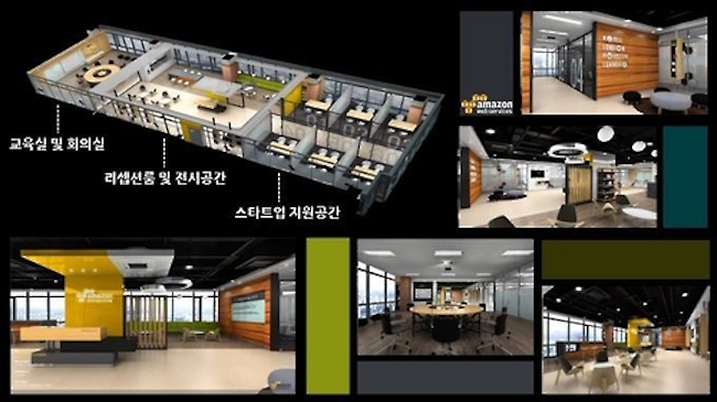 The center was founded thanks to a partnership between Busan and Amazon Web Services, the market leader in providing cloud computing platforms to customers. (Image: Yonhap)