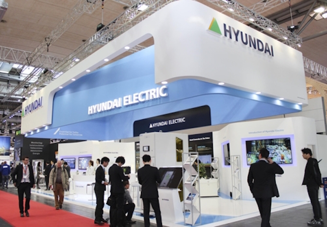 Hyundai Electric and Energy Systems Co., a unit of top shipbuilder Hyundai Heavy Industries Co., said Wednesday that it has set up a company in Thailand to strengthen its presence in the Asian region. (Image: Hyundai Electric)
