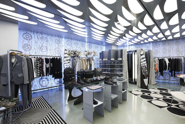 Thom Browne, an American fashion designer, worked with Club Monaco, a brand under the Polo Ralph Lauren umbrella, before starting his own clothing line. (Image: 10 Corso Como Seoul Website)