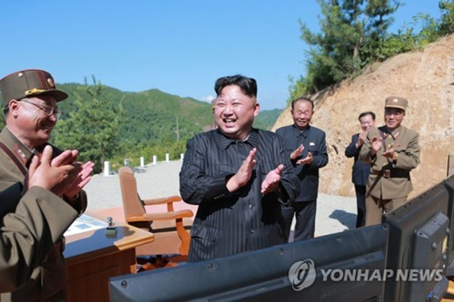 New government data has revealed that North Korean leader Kim Jong-un has made significantly fewer public appearances this year, while focusing on military activities. (Image: Yonhap)