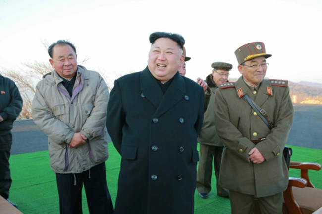 According to data released by the Ministry of Unification on Wednesday, Kim had appeared in public on 75 occasions from the beginning of this year until Tuesday, down over 24 percent from last year's figure of 99 times. (Image: Yonhap)