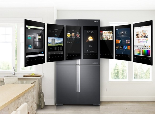 The adoption of the latest technology in home appliances – from artificial intelligence to the internet of things – is being well-received by consumers, as manufacturers increase their efforts to release a wider range of technology-based white goods. (Image: Samsung Electronics)