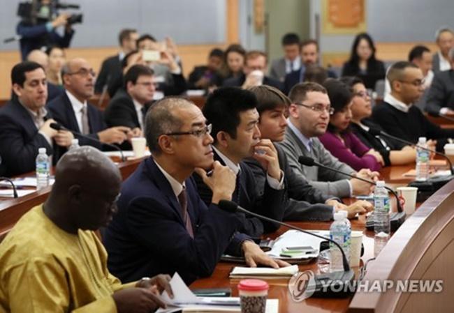 S. Korea Assures Foreign Diplomats of Security of PyeongChang Olympics