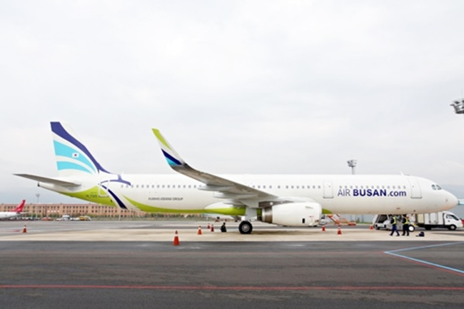 In its mid-term strategy, Air Busan plans to introduce midsize passenger jets with 300 to 400 seats after 2020 to serve on long-haul routes to destinations that include Hawaii, Australia and Europe, the company said in a statement. (Image: Busan Air)