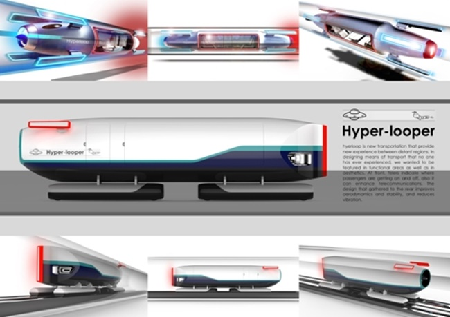 Model of Ultra High-Speed Public Transport U-Loop Unveiled