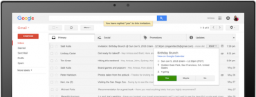 Google Uses AI to Improve Email