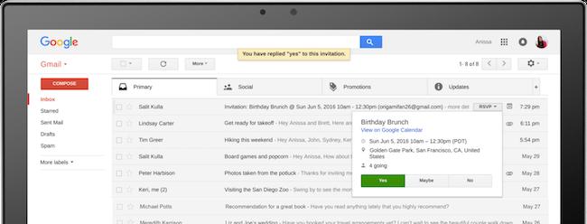 Google Uses AI to Improve Email