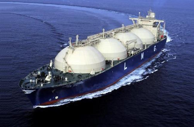 More demand, in particular more demand for maritime transport of LNG, naturally calls for LNG carriers; something the three South Korean shipbuilders, having obtained orders for 46 of 59 15,000 CBM LNG carriers that were issued in 2014 per U.K. shipbroker Clarksons, are well positioned to take advantage of. (Image: Yonhap)