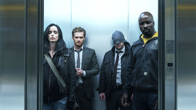 In South Korea, Marvel's The Defenders is most commonly selected for binge-watching. (Image: Netflix Website)