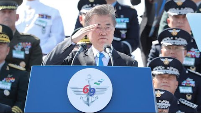 South Korea has secured technologies to build a non-lethal graphite bomb which can paralyze the North's power systems in case of war, military sources said Sunday. (Image: Yonhap)