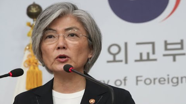 "She said, ""I am fully in agreement with the writer's insistence that there must not be a second war on the peninsula, no matter what."" (Image: Yonhap)"