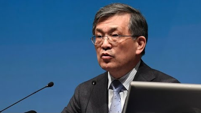 """Speaking about his decision to resign, Kwon said, """"When thinking about the rapidly changing technology industry and its inherent qualities, I believe now is the time for younger management to step forward and make a fresh start with uncommon resolve."""" (Image: Yonhap)"""